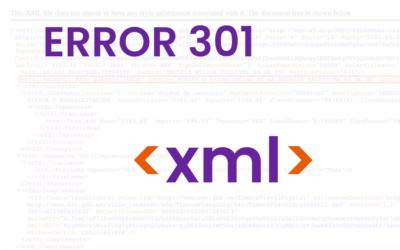 301 – XML mal formado : El campo RFC debe aparecer en el elemento cfdi:Receptor